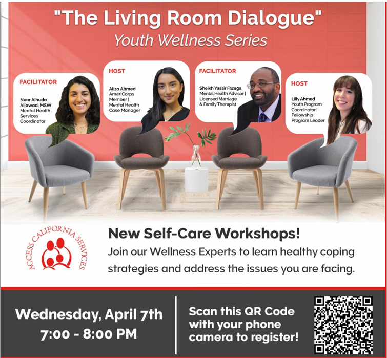 """The Living Room Dialogue"" Youth Wellness Series"