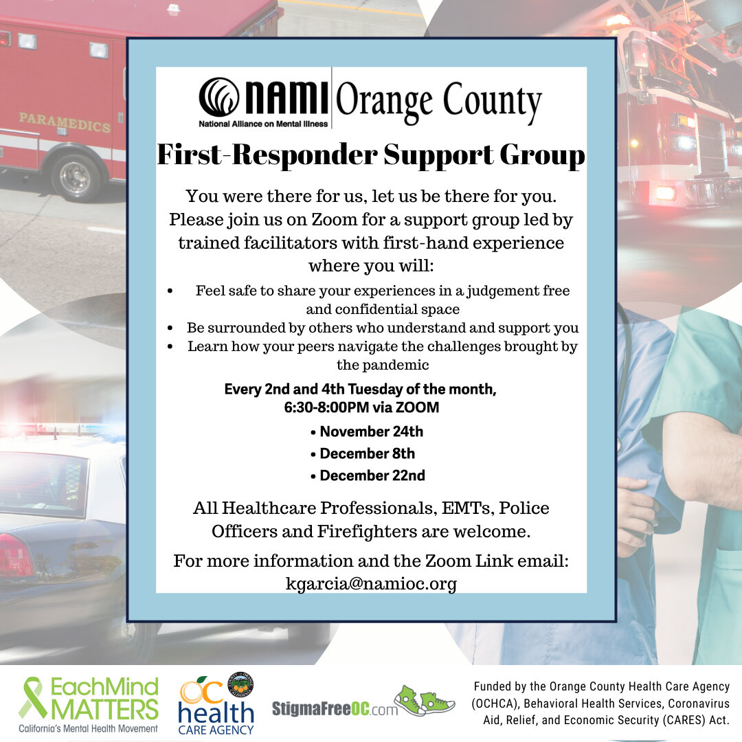 First-Responder Support Group