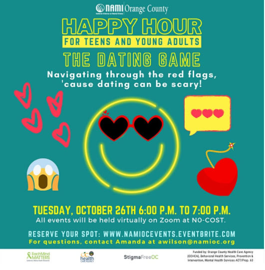 NAMI-OC's Happy Hour: The Dating Game