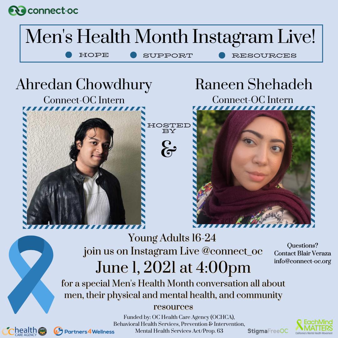 Instagram Live: Men's Health