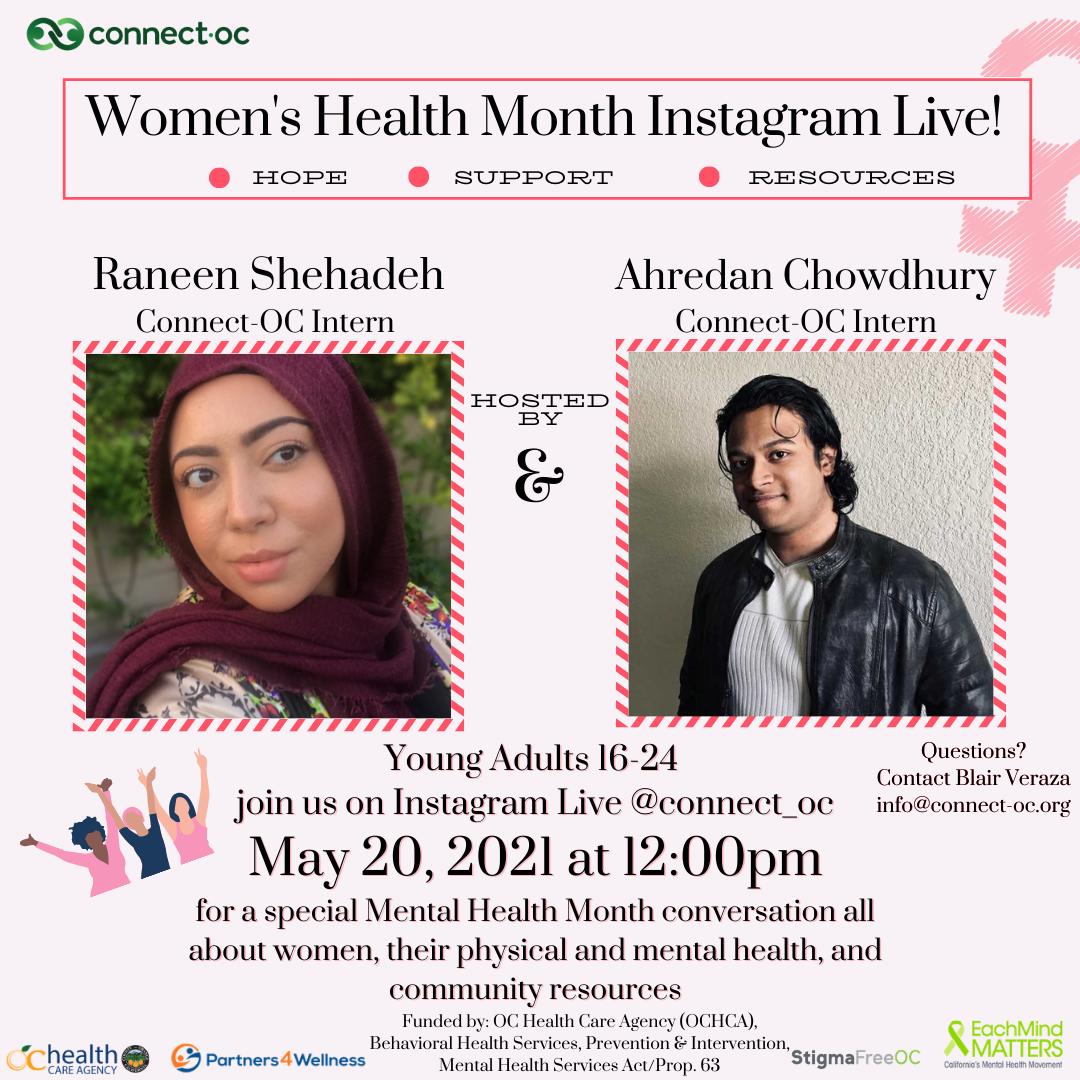 Instagram Live: Women's Health