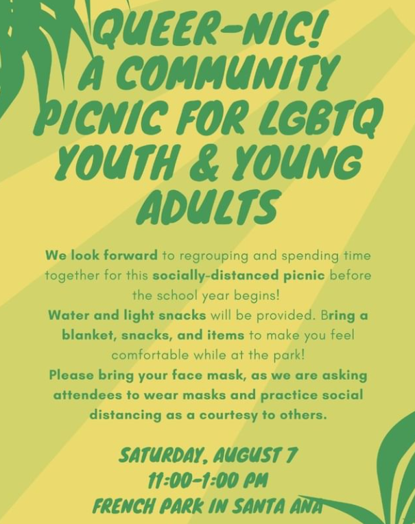 Queer-nic! - A Community LGBTQ Youth/Young Adult Picnic