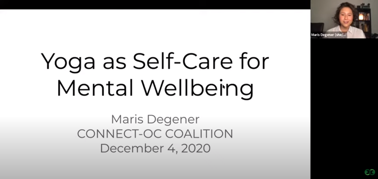 Yoga as Self-Care for Mental Wellbeing