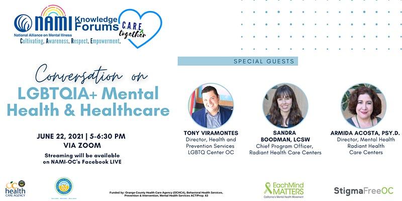 Conversation on LGBTQIA+ Mental Health & Healthcare