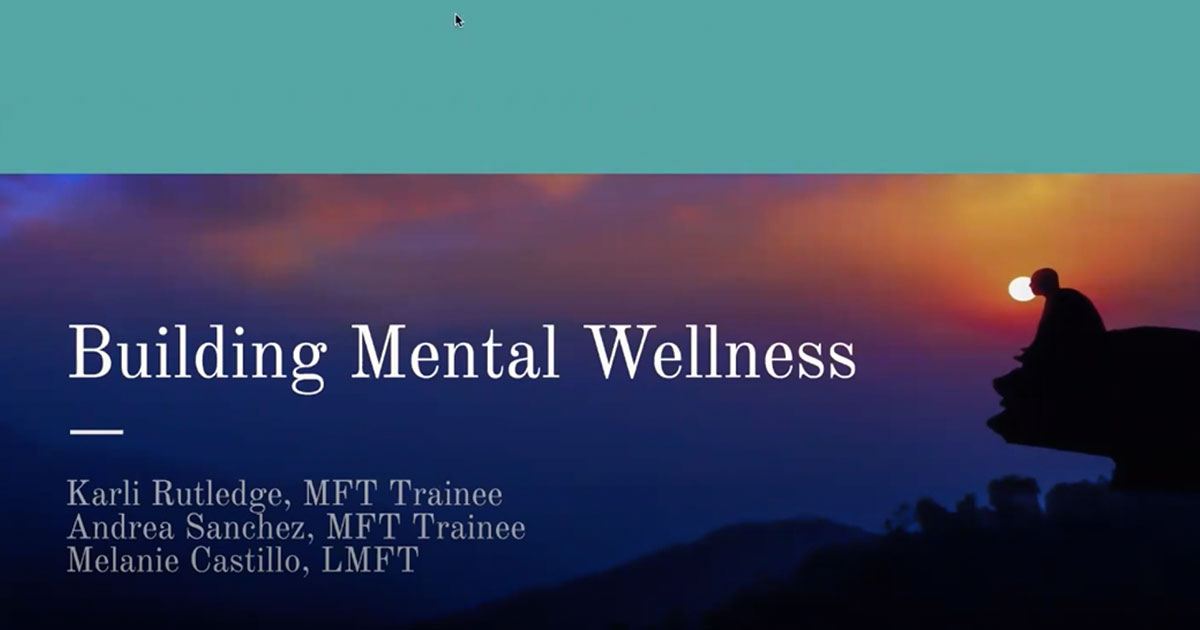 New Year, Same Pandemic: Building Habits for Mental Wellness For Youth & Young Adults 16-24